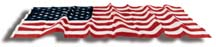 2 1/2' x 4' Endura-Nylon U.S. Outdoor Flag