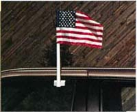 U.S. Auto Window Flag - Two Piece Bracket Only