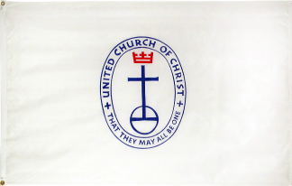 3' x  5' United Church of Christ Nylon Outdoor Flag