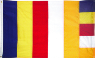 3' x 5' Buddhist Nylon Outdoor Flag