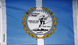 3' x 5' Nylon Outdoor Korean War Veterans Commemorative Flag