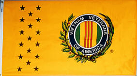 3' x 5' Nylon Outdoor Vietnam Veterans Commemorative Flag