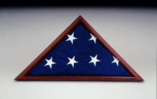 Model IFC-P 5' x 9.5' Poplar Memorial Case