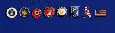 Military Lapel Pin Designs