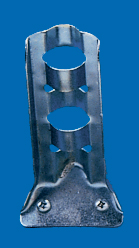 "1/2"" Silver Stamped Steel Flagpole Bracket (SSB-12)"