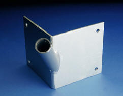 Franklin Series Single Corner Flagpole Bracket