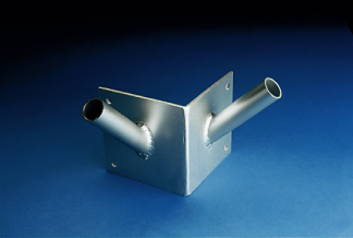Franklin Series Double Corner Flagpole Bracket