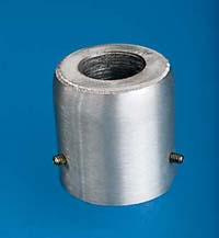 Silver Pole Top Adapter