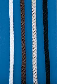 "1/4"" Solid Braided Flagpole Halyard"