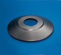 "22"" Standard Aluminum Flagpole Flash Collar"