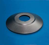 "12"" Standard Aluminum Flagpole Flash Collar"