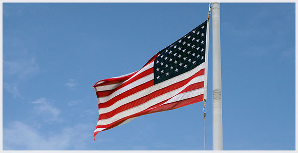 6' x 10' Poly-Max U.S. Outdoor Flag