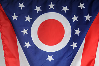 "12"" x 18"" Endura-Poly Outdoor State Flag"