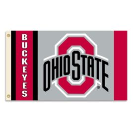 Ohio State Buckeyes | 3 Ft. X 5 Ft. Flag W/Grommets