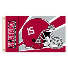 Alabama Crimson Tide   3 Ft. X 5 Ft. Flag W/Grommets – Helmet Design