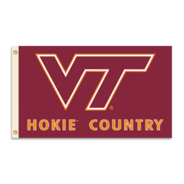 Virginia Tech Hokies | 3 Ft. X 5 Ft. Flag W/Grommets – Country