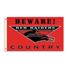 Texas Tech Red Raiders | 3 Ft. X 5 Ft. Flag W/Grommets – Country