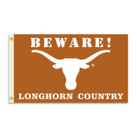 Texas Longhorns | 3 Ft. X 5 Ft. Flag W/Grommets – Country