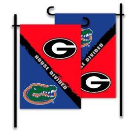 Georgia – Florida | 2-Sided Garden Flag – Rivalry House Divided