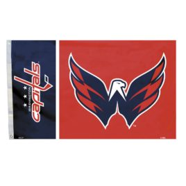 Washington Capitals | 3 Ft. X 5 Ft. Flag W/Grommetts