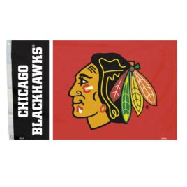 Chicago Blackhawks | 3 Ft. X 5 Ft. Flag W/Grommetts
