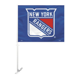 New York Rangers | Car Flag W/Wall Bracket