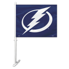Tampa Bay Lightning | Car Flag W/Wall Bracket