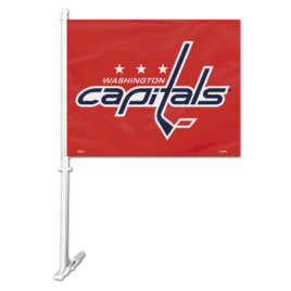 Washington Capitals | Car Flag W/Wall Bracket