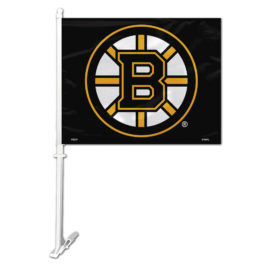 Boston Bruins | Car Flag W/Wall Bracket