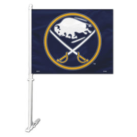 Buffalo Sabres | Car Flag W/Wall Bracket