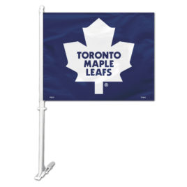 Toronto Maple Leafs | Car Flag W/Wall Bracket
