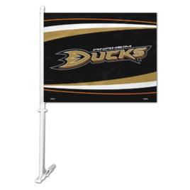 Anaheim Ducks   Car Flag W/Wall Bracket