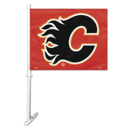 Calgary Flames | Car Flag W/Wall Bracket