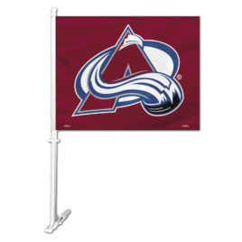 Colorado Avalanche | Car Flag W/Wall Bracket