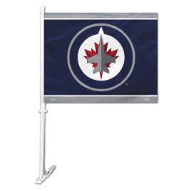 Winnipeg Jets | Car Flag W/Wall Bracket