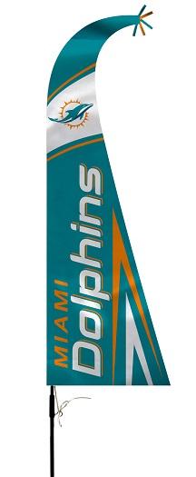 Miami Dolphins | Feather Flag