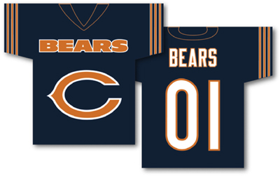 Chicago Bears | Jersey Banner 34″ x 30″ – 2-Sided