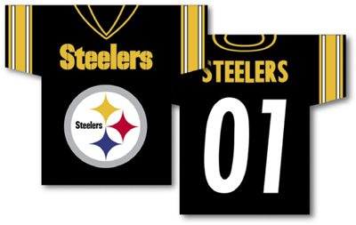 Pittsburgh Steelers | Jersey Banner 34″ x 30″ – 2-Sided