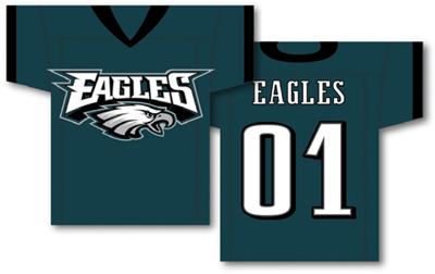 Philadelphia Eagles | Jersey Banner 34″ x 30″ – 2-Sided