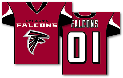 Atlanta Falcons | Jersey Banner 34″ x 30″ – 2-Sided