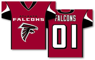 Atlanta Falcons | Jersey Banner 34″ x 30″ – 2-Sided