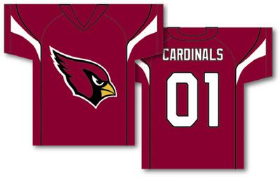 Arizona Cardinals | Jersey Banner 34″ x 30″ – 2-Sided