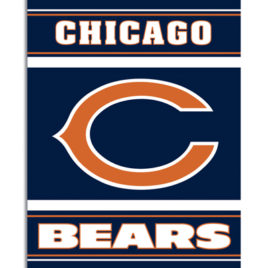 Chicago Bears | 2-Sided 28 X 40 House Banner