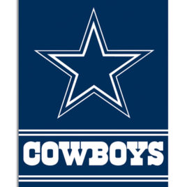 Dallas Cowboys | 2-Sided 28 X 40 House Banner