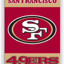 San Francisco 49ers | 2-Sided 28 X 40 House Banner
