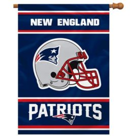 New England Patriots | 2-Sided 28 X 40 House Banner