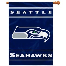 Seattle Seahawks | 2-Sided 28 X 40 House Banner
