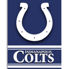 Indianapolis Colts | 2-Sided 28 X 40 House Banner