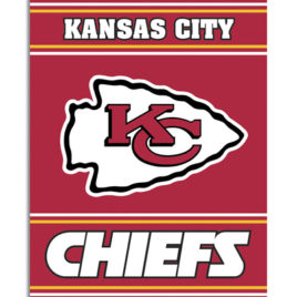 Kansas City Chiefs | 2-Sided 28 X 40 House Banner