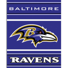 Baltimore Ravens | 2-Sided 28 X 40 House Banner